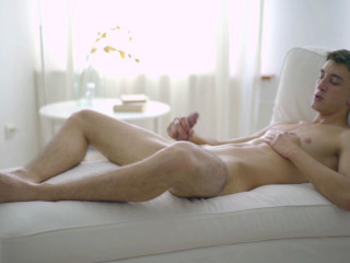 Squirting cum with slim and hung Pyotr Belyakov