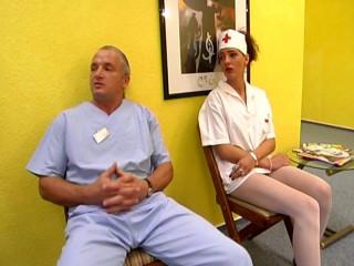 His nurse is a whore
