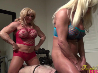 Ashlee Chambers and Horny Kat - It's A Threesome. With A Twosome In Charge