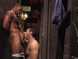 Caught Fuck With Adam Champ & Angelo Marcon