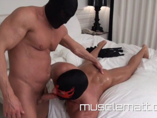 MuscleMatt - Miracle Worker Boss Massages Anthony Inside And Out