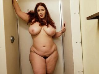 big boob redhead milf showing tits