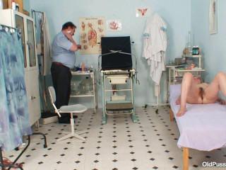 Tamara - 47 years woman obgyn examination