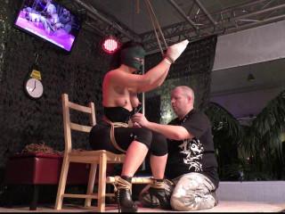 Predicament Bondage Training - Scene 2 - HD 720p