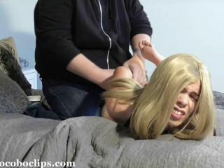 Manhandled By Her Stalker - Juliette - Full HD 1080p