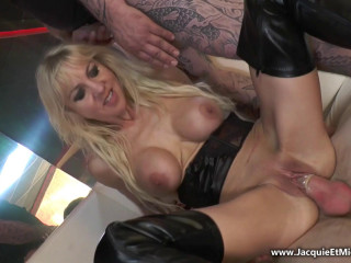 Therese, mass ejaculation monster at The Temptation!
