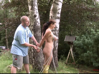 Outdoor Restrain bondage