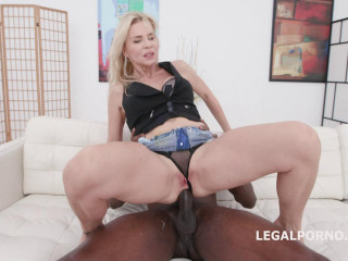 Perfect Milf Nadya Basinger Rough Assfucked By Monster Black Dick