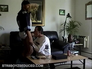 Straight Boy Thug Suck Off
