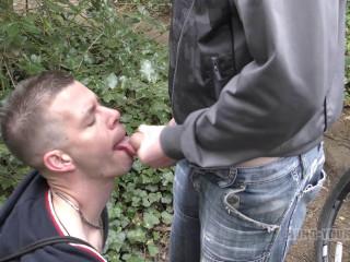 3 RAW Trashy British lads horny