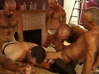 Brutal Orgy With Hard Hat Pigs