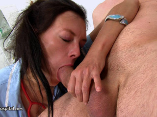 Lean Milf Nurse Pippa Big Cock Tugjob And Blowjob