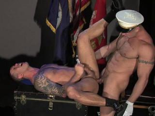 Uniform Men, Scene 1 - Adam Killian & Spencer Reed Flip-Flop Fuck