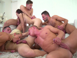Victoria Pure Nicole Sweet Christian Dean Micky Bold Let's Orgy! (2018)