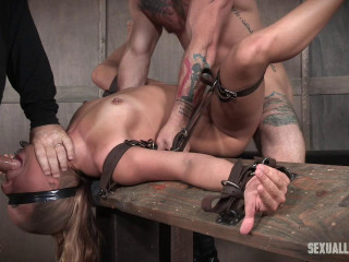 Julia Waters - Violent gullet fuckings, Assfuck fucking, with unbelievable bondage.
