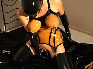 Hardcore rubber fetish and latex 16