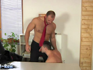 BreedMeRaw - Zack Spandex hood and Andy West