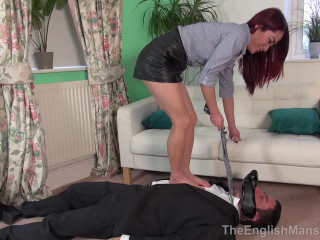 Lady Boss Foot Reprimand