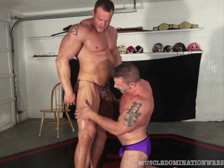 Muscle Domination Wrestling - Matt Thrasher & Mark Muscle