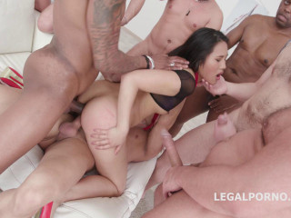 Facial 10on1 Gangbang With Tap For Asian Babe