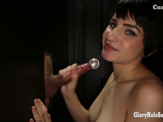 Allora's Second Glory Hole Video - August 5, 2016