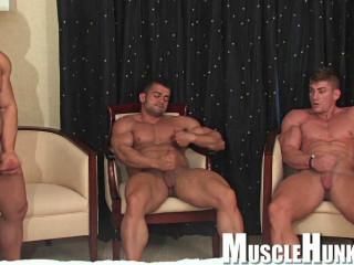 Musclehunks - Sven, Benny, Kevin - Gang Stamina