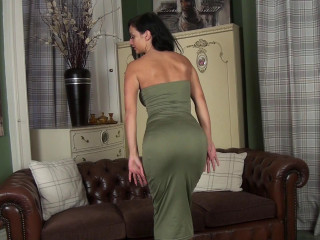 Cassie Clarke - Tight Sundress