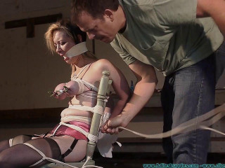 Kneels And Begs For Tit Torture, And Gets It - Lexi Lane - Scene 4 - HD 720p