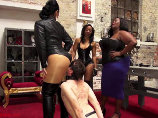 Domme Ezada Sinn, Madame Caramel & Governess Painless - Arse Worshipper Inverview