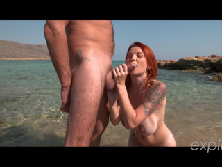 Video busty Milf Julie Valmont sodomy on the beach