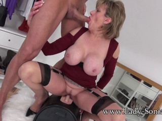 Lady Sonia - A Fan Shoots His Cum All Over Me