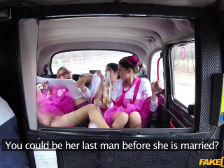 Hen Party Gets Wild in Prague taxi