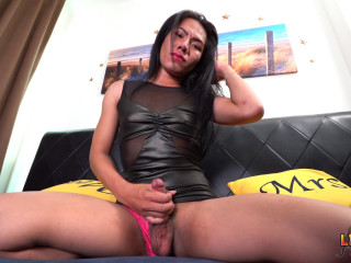 Delicious Pancake Plays Her Cock!