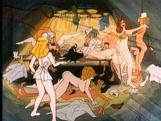 Retro Cartoon-Sex