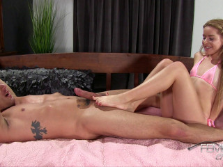 Lily Ford Rosy Bikini FootJob