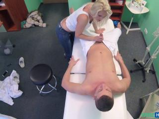 Kathy Anderson - Frolic Mummy masseuse pummels doctor (2017)