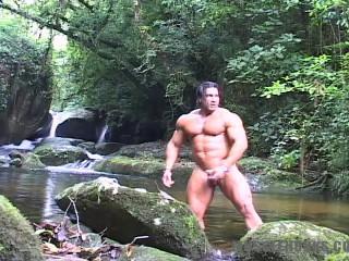 MuscleHunks - Daniel Morocco - Fountain of Stamina