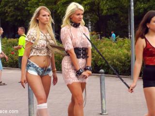 Juliette March Disgraces 2 Buxom Restrain bondage Slut Blondes