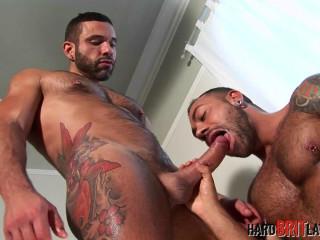 Letterio Amadeo and Sergi Rodriguez