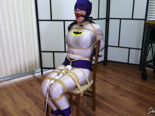 Cassandra Cain Batwoman Chairtied and Auctioned Off