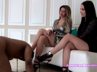 Kiss Our Ballbusting Shoes