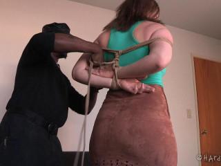 Harley Ace - Biker Restrain bondage Nymph