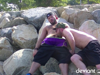 Nude Beach Bromance