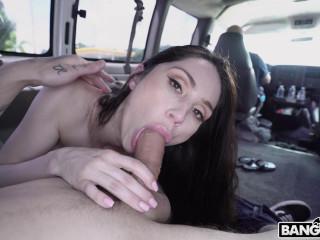 Violet Jade - Super Sexy Violet Gets Fucked In The Bus (2019)