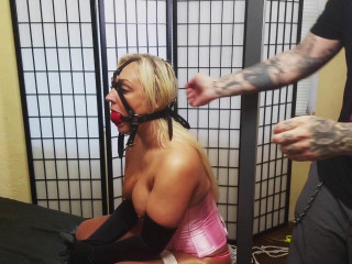 Tied Up in Pink Satin - Amber Deen - Scene 2 - HD 720p