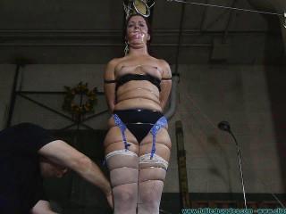 Fayth Punished with Thin Wire 2 part - Extreme, Bondage, Caning
