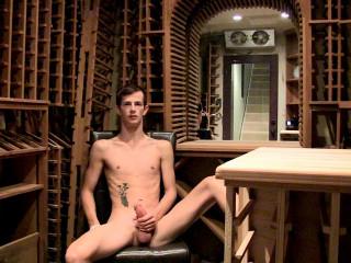 Stroking In The Wine Cellar (Jasper Robinson) 720p