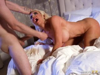 Guys gal Nicolette Shea is cuckold on her hubby with his junior boy