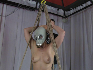 Suspension With Gas Mask 1