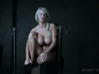Hardcore Bondage Therapy For Blond Milf